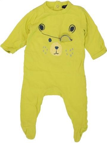 Pijama de 1 pieza niño KIAKESU verde 3 meses verano #1497442_1