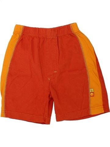 Short-Bermudas niño C&A rojo 3 años verano #1497526_1