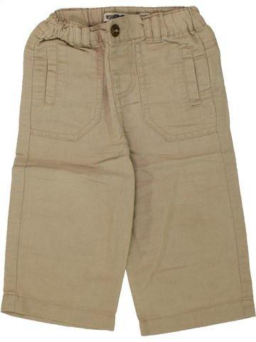 Pantalon garçon TAPE À L'OEIL beige 12 mois été #1497535_1