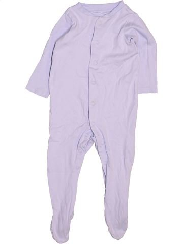 Pyjama 1 pièce garçon TU violet 9 mois été #1497624_1