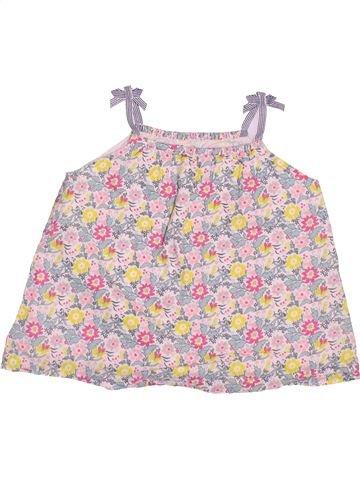 Blusa de manga corta niña JOHN LEWIS rosa 4 años verano #1497645_1