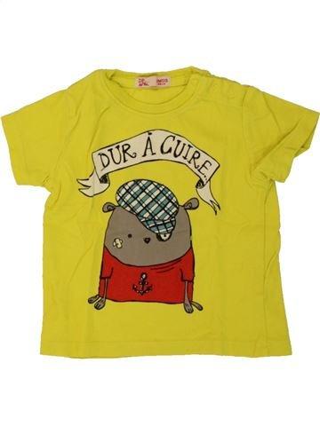 Camiseta de manga corta niño DPAM verde 3 meses verano #1497755_1