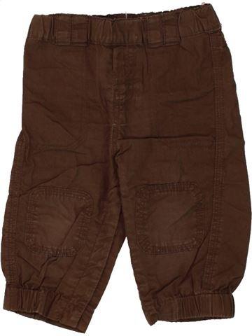 Pantalon garçon LA REDOUTE CRÉATION marron 12 mois été #1497806_1