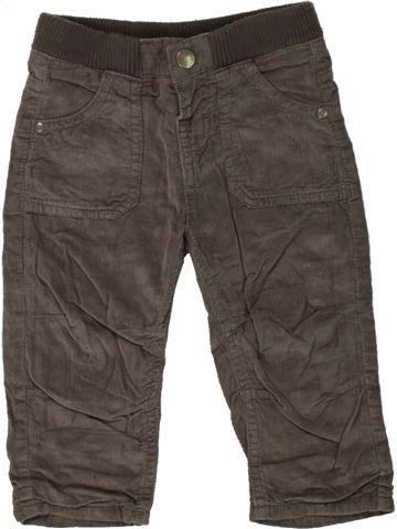 Pantalon garçon TAPE À L'OEIL gris 9 mois hiver #1497838_1