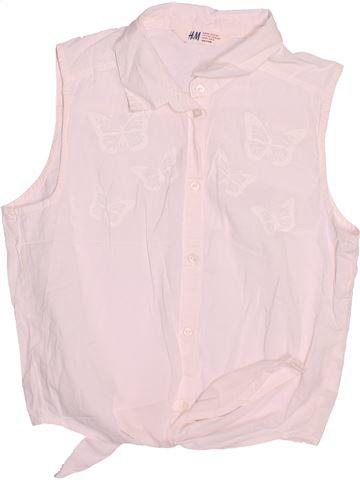 Blusa de manga corta niña H&M rosa 14 años verano #1497917_1