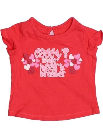 Camiseta de manga corta niña MOTHERCARE rojo 3 meses verano #1497953_1