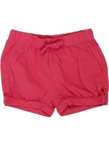 Short-Bermudas niña GAP rosa 2 años verano #1497967_1