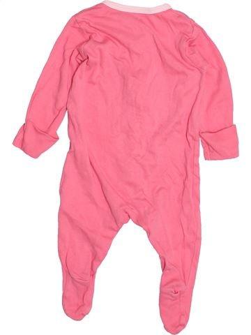 Pyjama 1 pièce fille TU rose 3 mois été #1498001_1