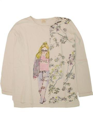 Camiseta de manga larga niña ZARA beige 14 años invierno #1498061_1