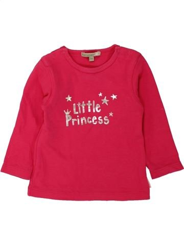 Camiseta de manga larga niña PREMAMAN rosa 9 meses invierno #1498214_1
