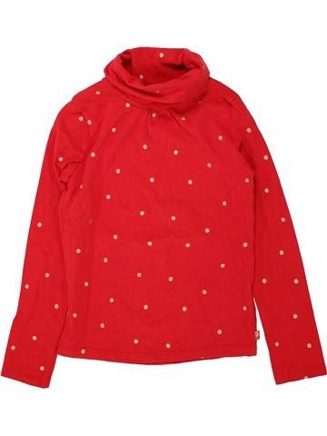 Camiseta de cuello alto niña OKAIDI rojo 6 años invierno #1498293_1