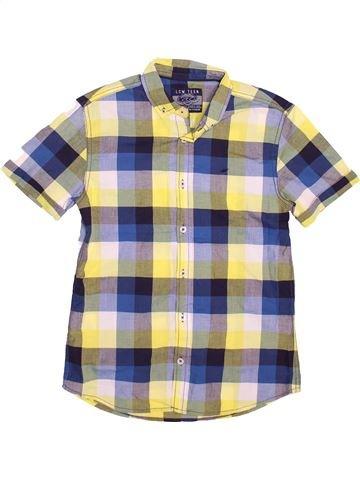 Chemise manches courtes garçon LCW beige 11 ans été #1498316_1
