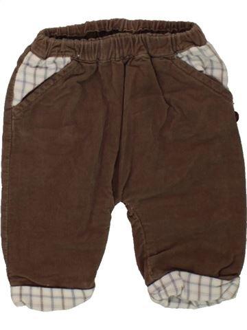 Pantalon garçon OKAIDI marron 1 mois hiver #1498463_1