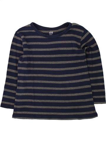 Camiseta de manga larga niño H&M negro 4 años invierno #1498479_1