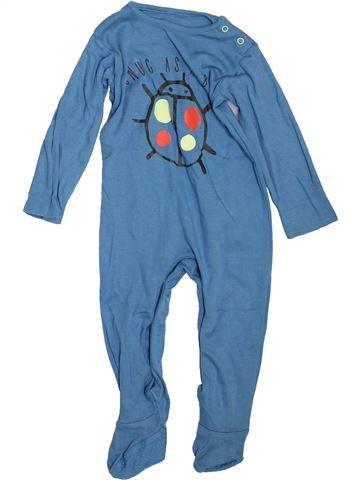 Pijama de 1 pieza niño TU azul 18 meses verano #1498488_1