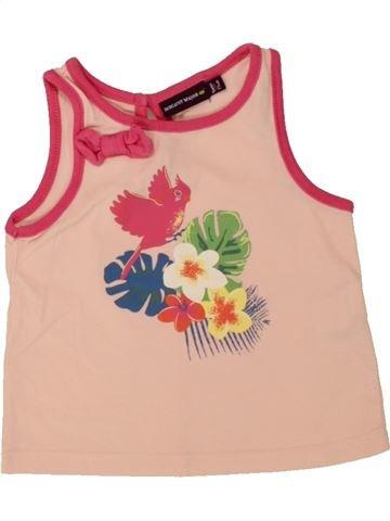 T-shirt sans manches fille SERGENT MAJOR rose 9 mois été #1498499_1