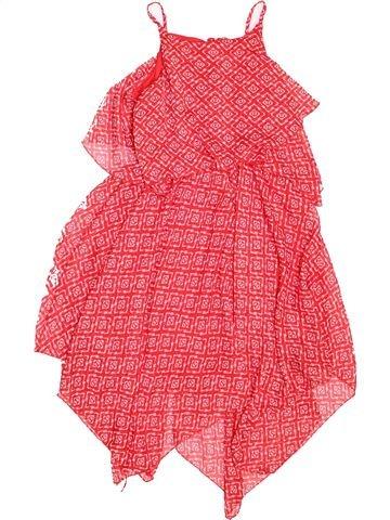 Robe fille MATALAN rose 10 ans été #1498514_1