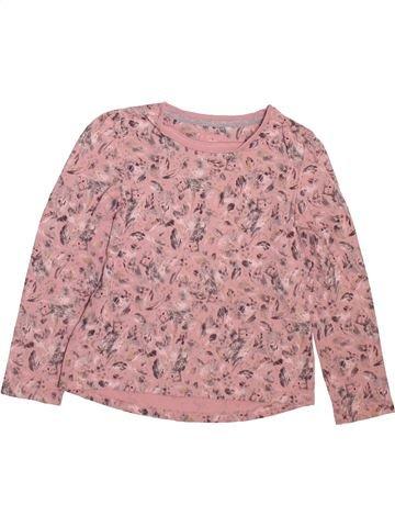 Camiseta de manga larga niña TU rosa 5 años invierno #1498524_1