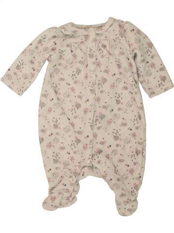Pijama de 1 pieza niña DPAM beige 1 mes invierno #1498525_1
