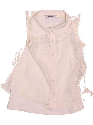 Blusa de manga corta niña GEORGE rosa 5 años verano #1498532_1