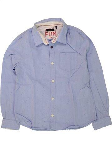 Camisa de manga larga niño IKKS azul 6 años invierno #1498544_1