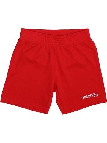 Short de sport garçon MACRON rouge 7 ans été #1498552_1