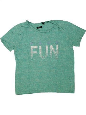 Camiseta de manga corta niño IKKS verde 6 años verano #1498553_1