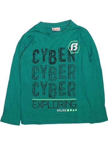 Camiseta de manga larga niño BRUMS verde 8 años invierno #1498562_1