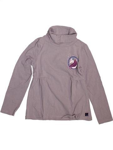 T-shirt col roulé fille SERGENT MAJOR gris 7 ans hiver #1498585_1