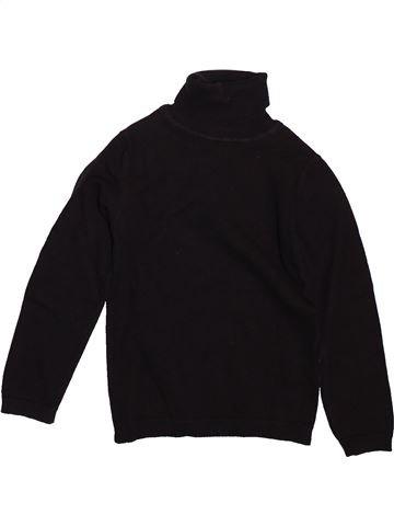 Pull fille DPAM noir 5 ans hiver #1498587_1