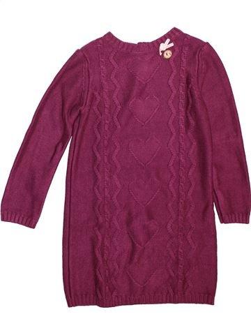 Robe fille SERGENT MAJOR violet 7 ans hiver #1498590_1