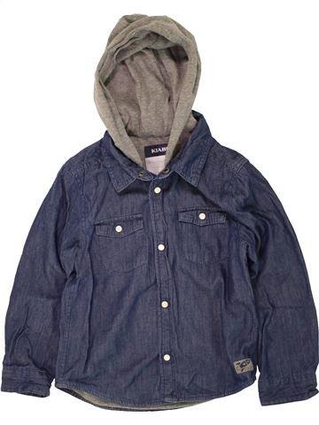 Chemise manches longues garçon KIABI bleu 5 ans hiver #1498600_1