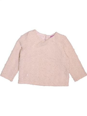Pull fille F&F violet 9 mois hiver #1498616_1