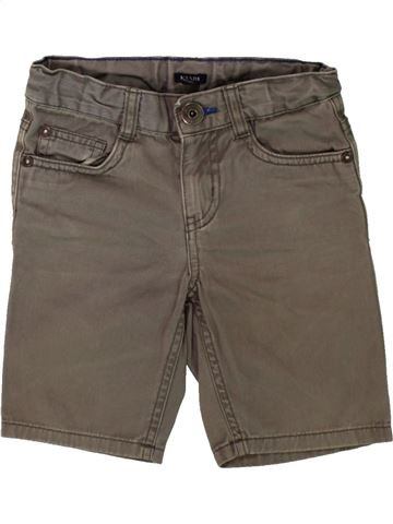 Short-Bermudas niño KIABI marrón 5 años verano #1498620_1