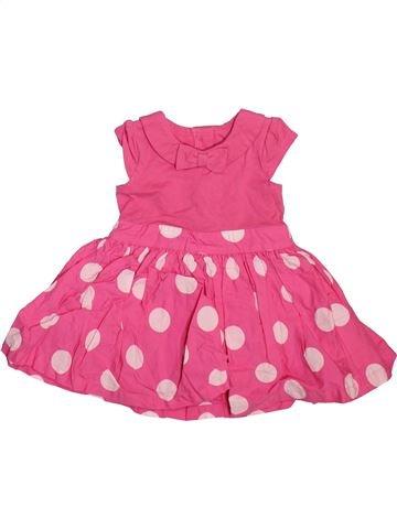 Vestido niña MATALAN rosa 12 meses verano #1498633_1