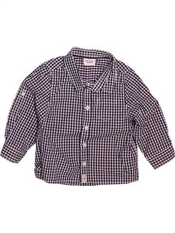 Chemise manches longues garçon TAPE À L'OEIL violet 18 mois hiver #1498664_1