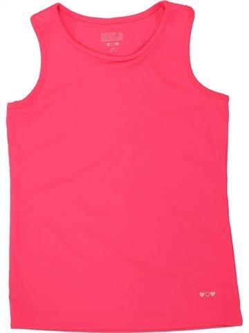 T-shirt sans manches fille GIRLS rouge 11 ans été #1498680_1