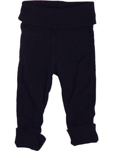 Pantalón niño JACADI negro 6 meses invierno #1498688_1