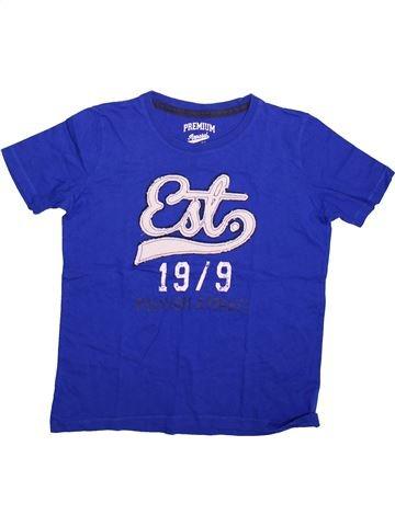 T-shirt manches courtes garçon PEPPERTS violet 14 ans été #1498770_1