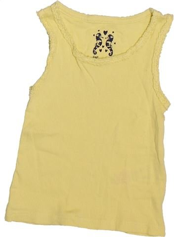 Camiseta sin mangas niña F&F amarillo 18 meses verano #1498774_1