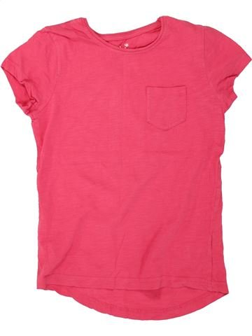 Camiseta de manga corta niña PRIMARK rosa 10 años verano #1498853_1