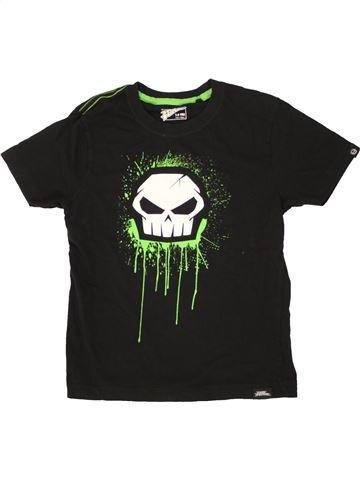 T-shirt manches courtes garçon NO FEAR noir 8 ans été #1498902_1