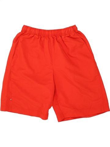 Pantalon corto deportivos niño PUMA rojo 12 años verano #1498920_1