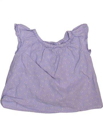 Blusa de manga corta niña ZARA violeta 3 años verano #1498960_1