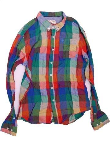 Chemise manches longues garçon PENGUIN bleu 13 ans hiver #1499012_1