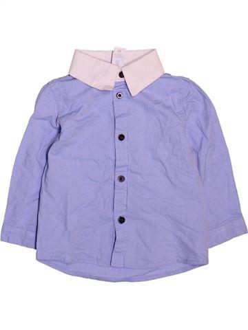 Chemise manches longues garçon C&A bleu 2 ans hiver #1499013_1