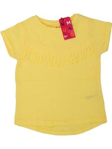 Camiseta de manga corta niña NUTMEG amarillo 18 meses verano #1499019_1
