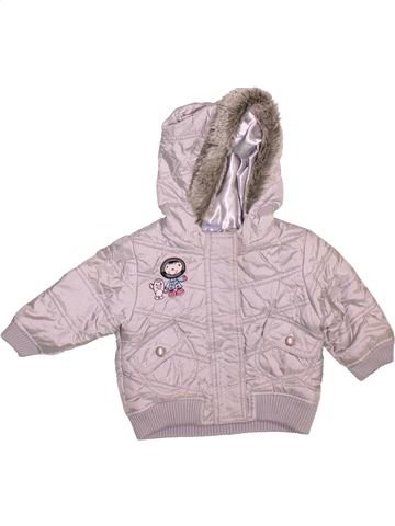 Doudoune fille CHEROKEE gris 9 mois hiver #1499036_1