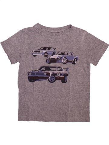 Camiseta de manga corta niño KIABI gris 8 años verano #1499057_1