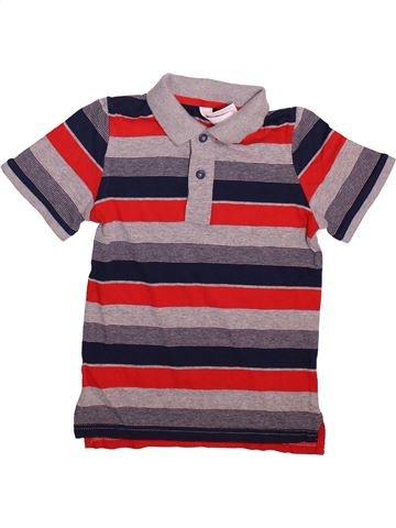 Polo manches courtes garçon C&A violet 8 ans été #1499100_1